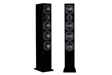 System Audio Saxo 70, sort