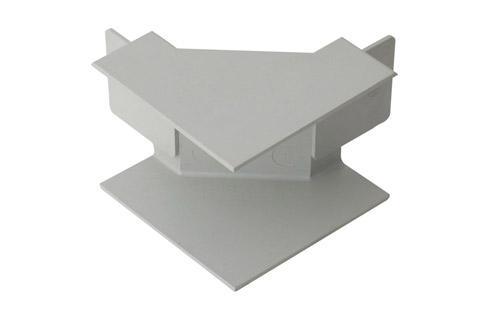 Rehau Indvendigt hjørne til kabelkanal, 40x60, grå