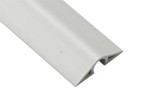 Kabelbakke til gulv, lyse grå