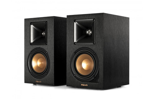 Klipsch Reference R-14PM active bookshelf speaker, black,  1 pair