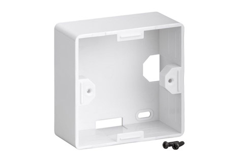 EURO wall plate surface box