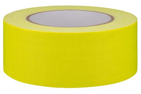 Gaffa-tape stor neon gul