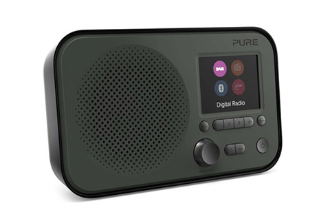 Pure Elan BT3 FM/DAB+ Radio, grafit