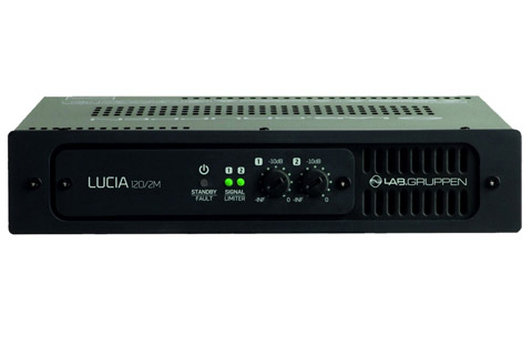 LAB.Gruppen LUCIA 120/2 Matrix amplifier 2 x 60W 8/4/2 Ohm