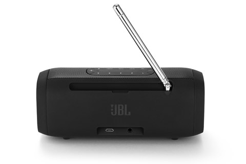 JBL Tuner transportabel radio, sort