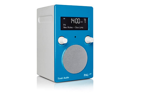 Tivoli Audio PAL+ BT (new), High gloss blue / white