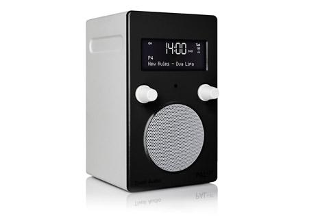 Tivoli Audio PAL+ BT (new), High gloss black / white