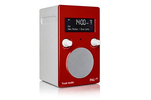 Tivoli Audio PAL+ BT (new), High gloss red / white