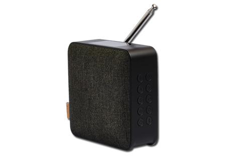 SACKit WOOFit DAB+ radio with bluetooth, black