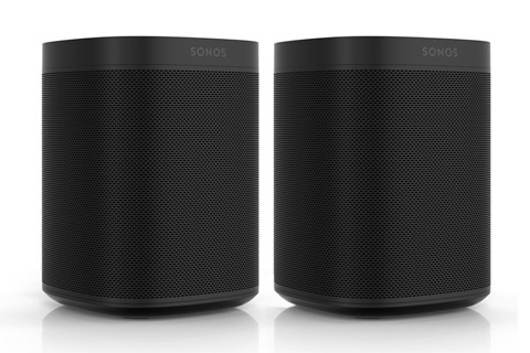 Sonos One - Dual pack, sort