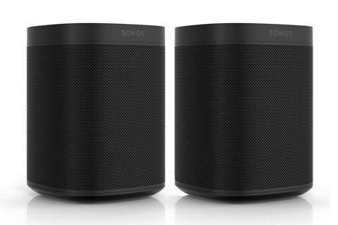 Sonos One dual pack højttaler, sort