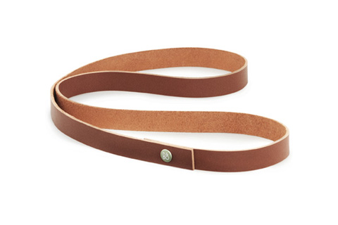 Beoplay leather strap long, cognac