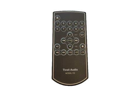Tivoli Audio erstatningsfjernbetjening til Model CD, sort