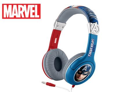 eKids Marvel hovedtelefoner, Captain America