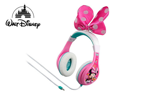 Disney Minnie Bow-tique hovedtelefoner, 3-9 år