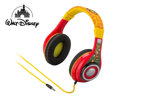 Disney Mickey and the Roadster Racers hovedtelefoner, 3-9 år