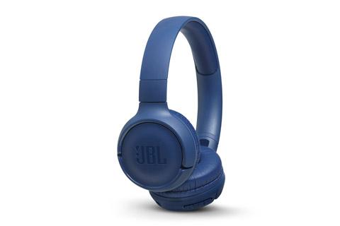 JBL T500BT on-ear hovedtelefoner, blå
