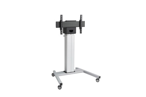 Vogels Pro motorized trolley for maximum 85'' monitors, silver