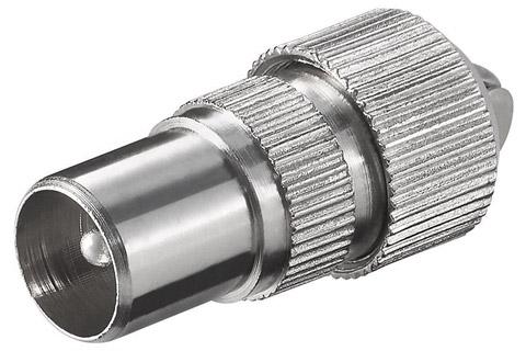 RF Antenne han stik til max. 7,0 mm. kabel