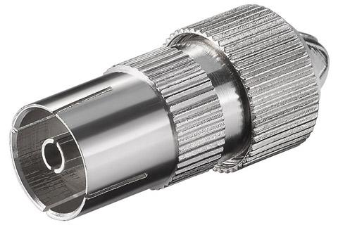 RF Antenne hun stik til max. 7,0 mm. kabel