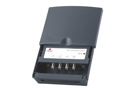 MFC 140 UHF/DVB-T + VHF/FM + DAB combiner filter, udendørs