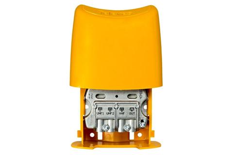 Televes Mastfilter med 2x UHF 1x VHF