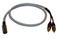 The cable is used to connect B&O BeoSound equipment with PowerLink output to 3rd party power amplifiers and active speakers (From Powerlink to Phono RCA)