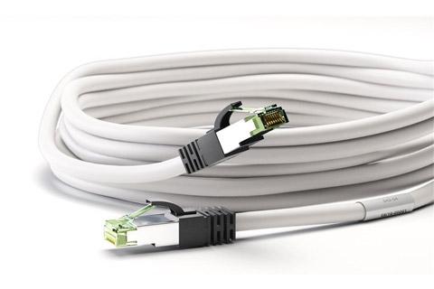 CAT 8.1 S/FTP Netværkskabel - Hvid