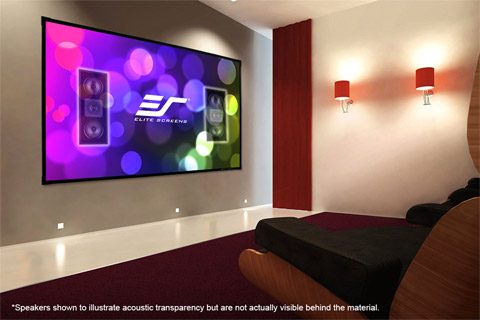 Elite Screens Aeon Edge Free AcousticPro