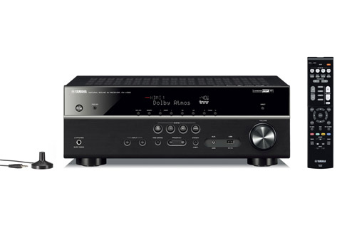 Yamaha RX-V585 surround receiver, sort