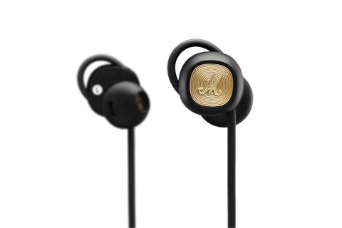 Marshall Minor II Bluetooth in-ear hovedtelefoner, sort