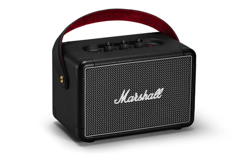 Marshall Kilburn II transportabel bluetooth højttaler, sort
