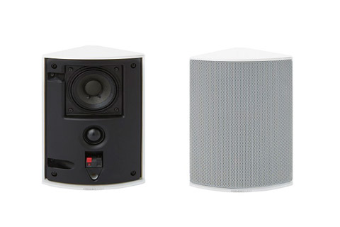 Cornered Audio Ci2 corner speaker, white,  1 pair