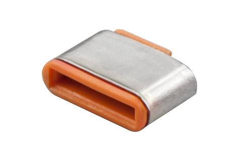 Lindy USB-C/ Thunderbolt 3 Port Blocker, orange