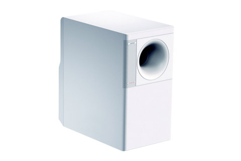 FreeSpace 3 Series, Acoustimass bas, white