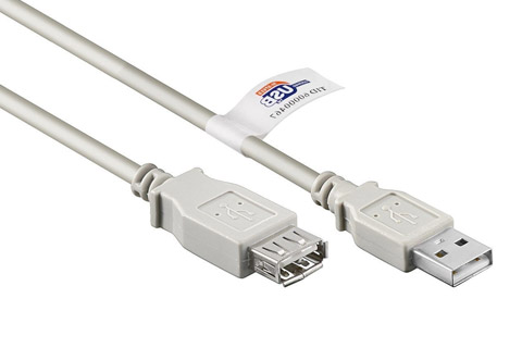 Goobay USB 2.0 A-A certified extension cable