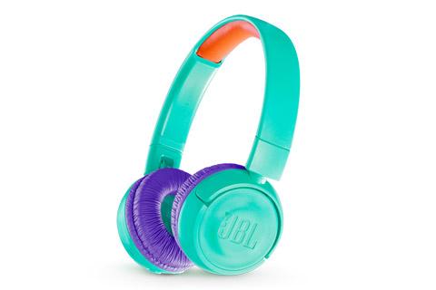 JBL JR300BT trådløse børnehovedtelefoner, blågrøn/teal