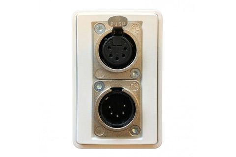 5-pin XLR vægudtag