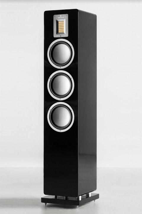 Audiovector QR 5 Gulvhøjttaler, sort højglans