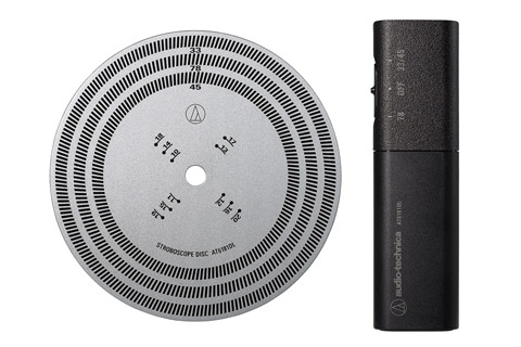 Audio-Technica Stroboscope Disc og lys kit