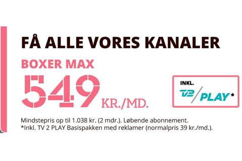 Boxer TV Max
