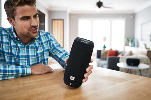 JBL Link 20 smart højtaler, lifestyle