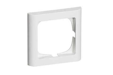LK FUGA softline ramme, 1 modul, hvid