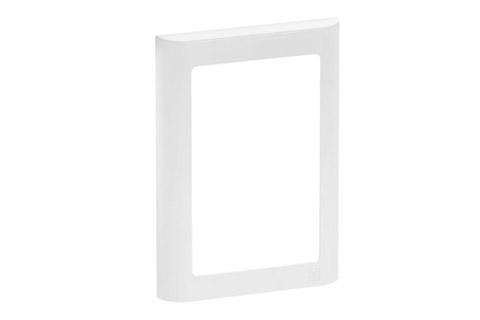 LK Softline design ramme, 1.5 modul, hvid