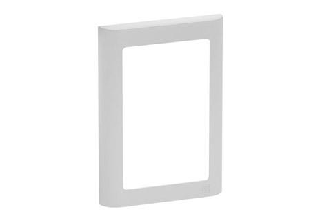LK Softline design ramme, 1.5 modul, lysegrå