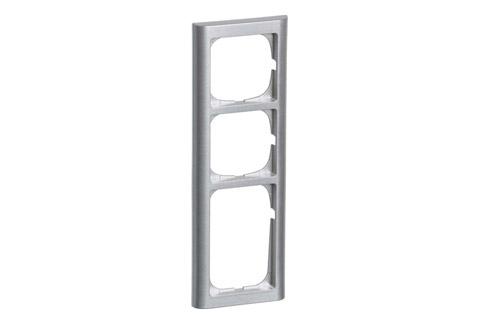 FUGA Softline ramme 3.5 modul, metallic