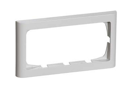 LK FUGA Softline® Frame 63, 2 module (nr. 500D5120), light grey