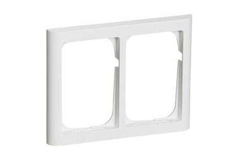 LK FUGA Softlone ramme 2x1.5 modul, hvid