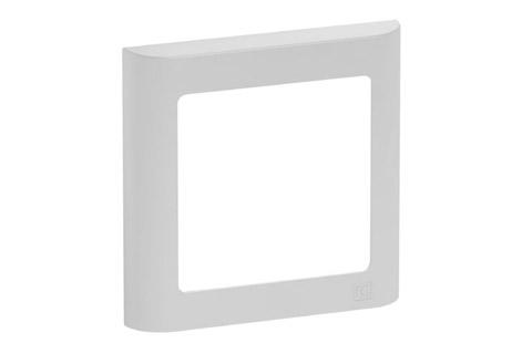 LK FUGA Softline designramme, 1 modul, lysegrå
