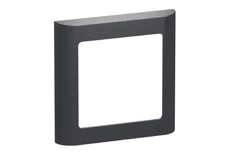 LK FUGA Softline designramme, 1 modul, koksgrå